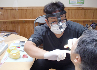 入れ歯の講整